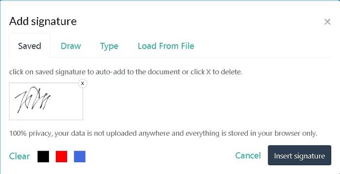 Sign PDF Files Online