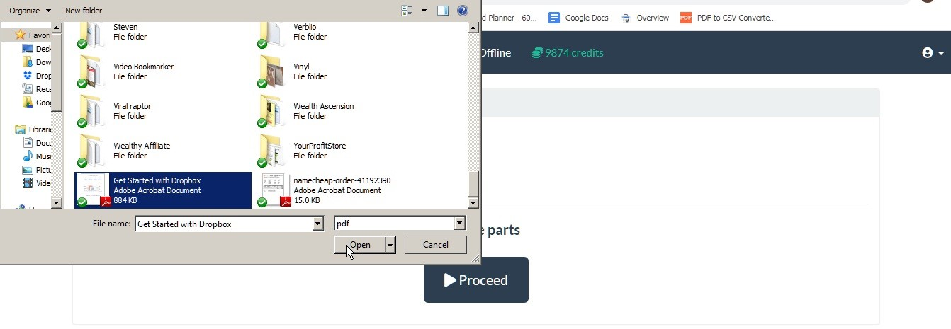 Split PDF Files