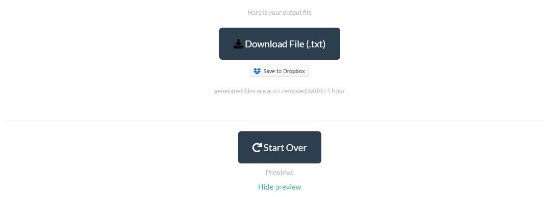 PDF to TXT Free Online