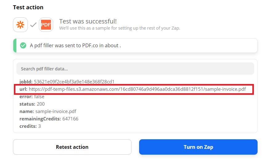 PDF.co Successful Test