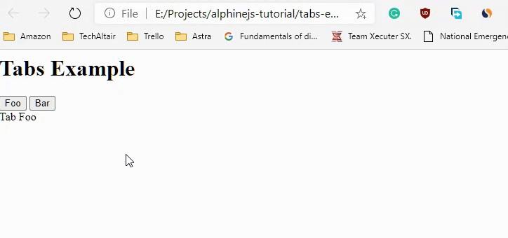 AlpineJS Tutorial