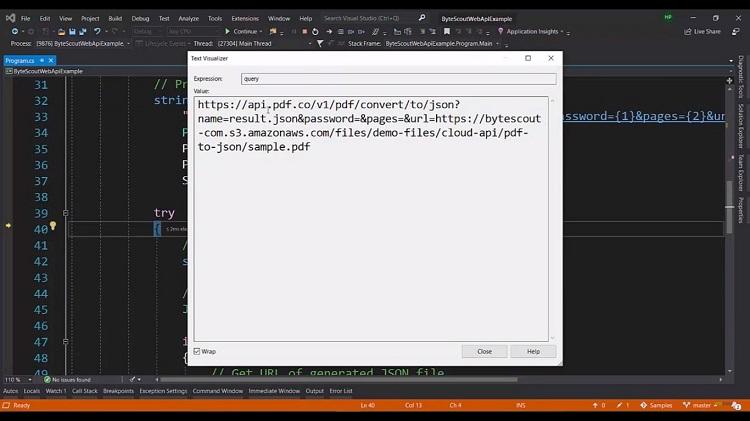 Convert PDF to JSON Tutorial