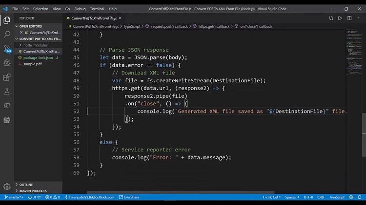 Tutorial How to Convert PDF to XML