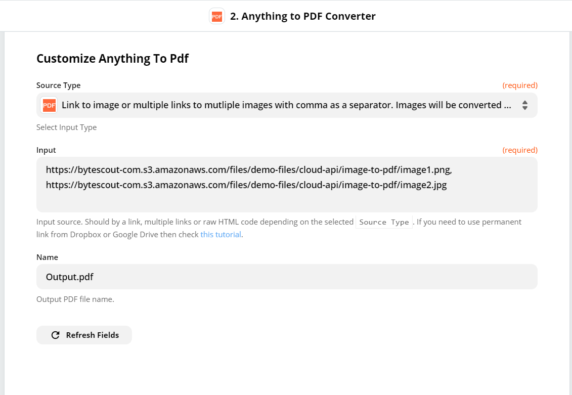 Customize Anything to PDF
