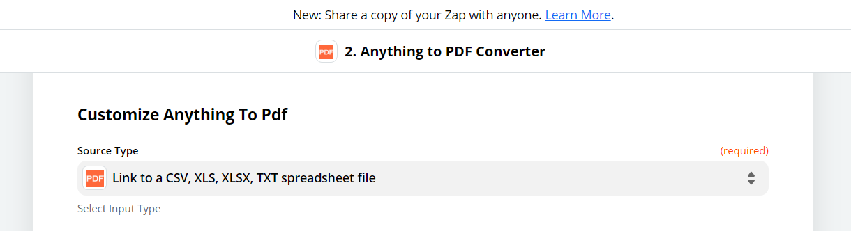 Customize Anything to PDF