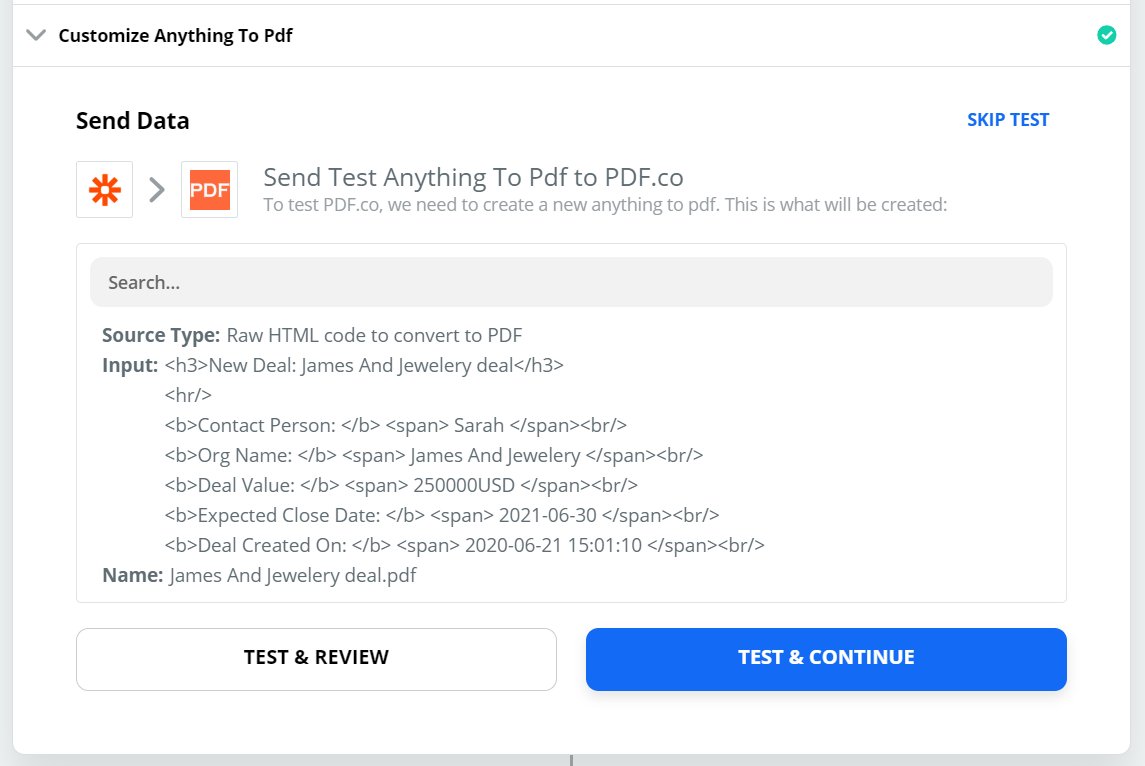 Send Anything To PDF Converter Data To Test And Review