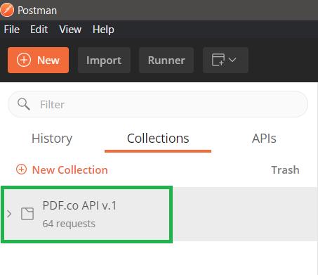 PDF.co Postman API