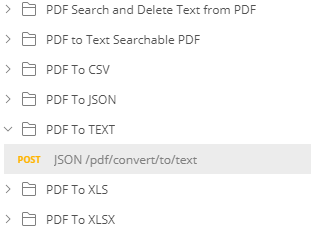 PDF To Text Endpoint