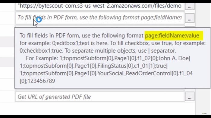 UiPath Fill PDF