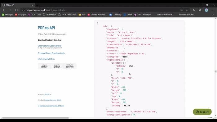 UiPath API Call