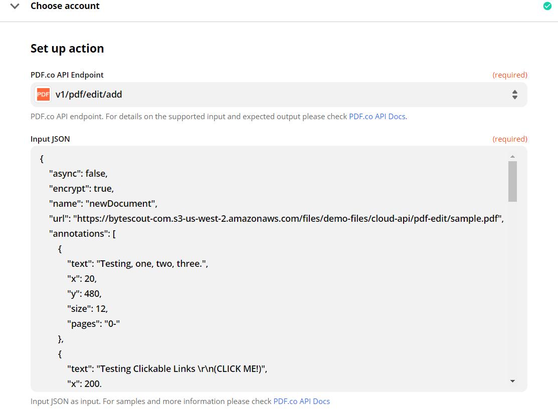 Configure Custom API To Add Annotation