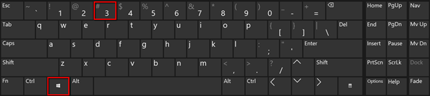 Shortcuts for Taskbar