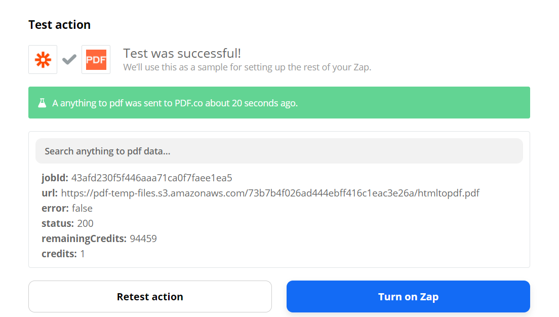 Anything To PDF Converter Test Successful