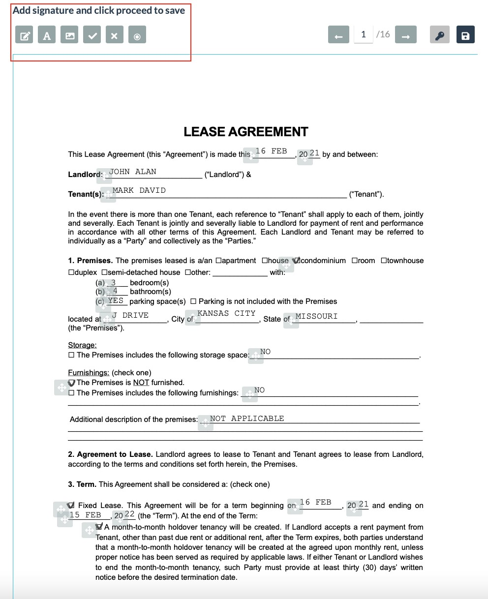 Real-Estate Lease Agreement
