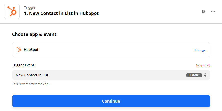 Use New Contact List In HubSpot As Trigger
