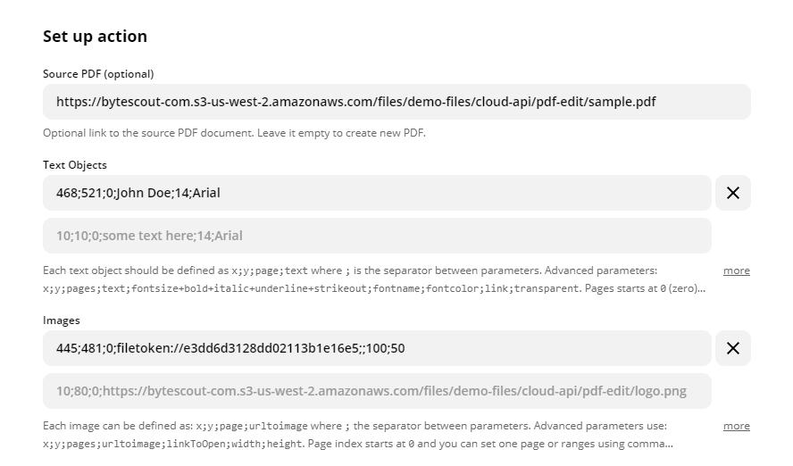 Use Signature PDF.co File Storage Link