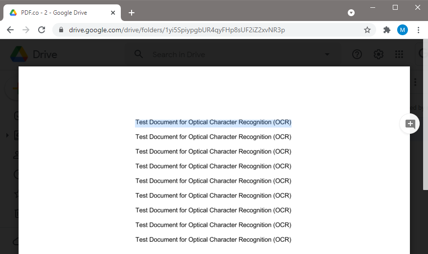 PDF File With OCR And Converted Into Searchable PDF
