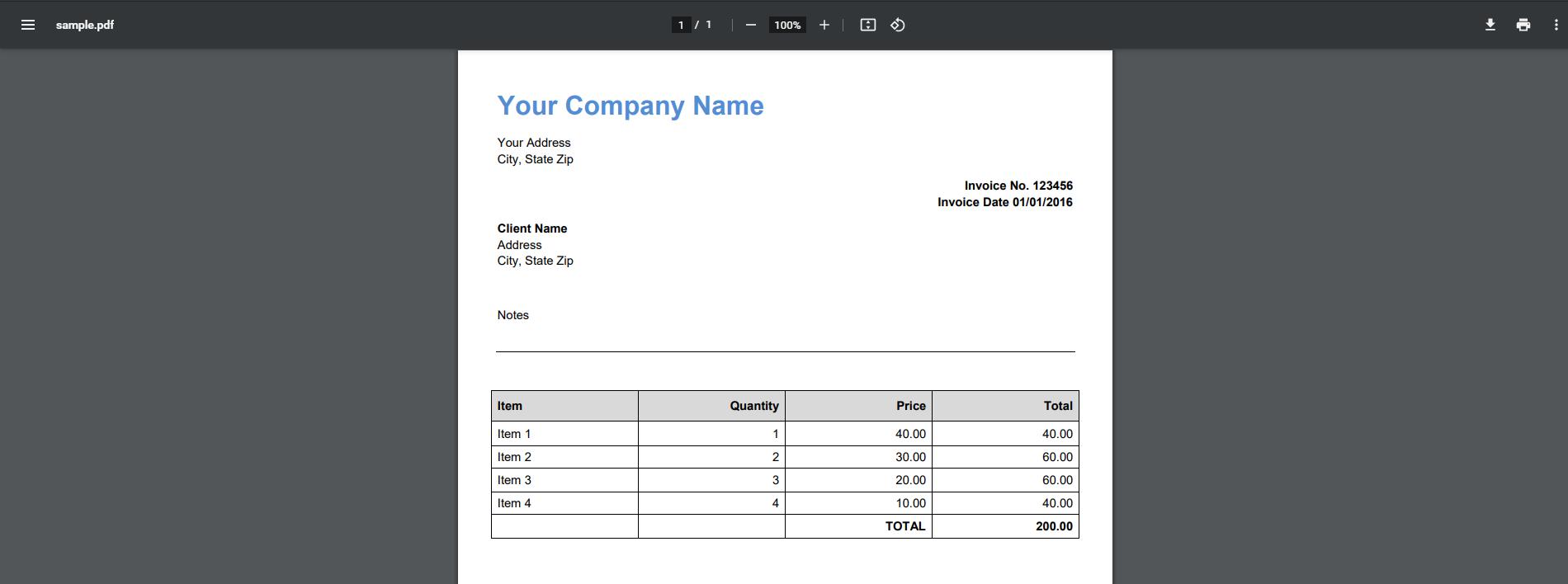 Screenshot of Souce File