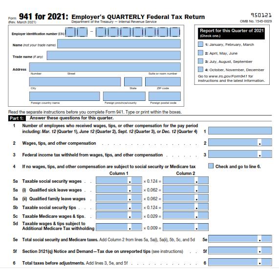 Form 941