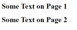 Screenshot of Source HTML