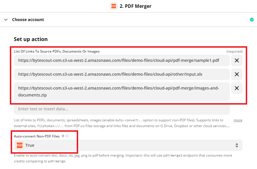 Setup The PDF Merger API Source Files
