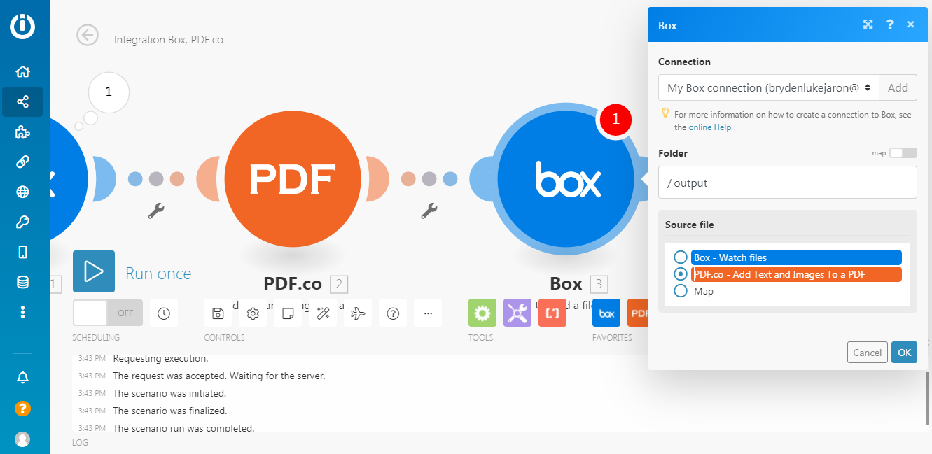 PDF.co - Add Text and Images