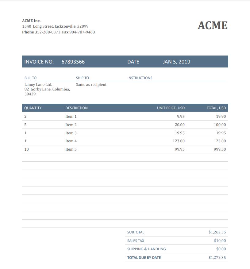 Screenshot of Source File