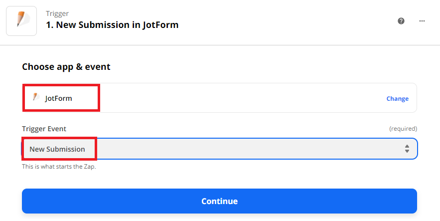 Use JotForm As The App