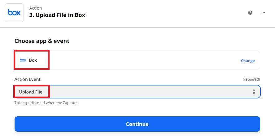 Upload File Back To Box