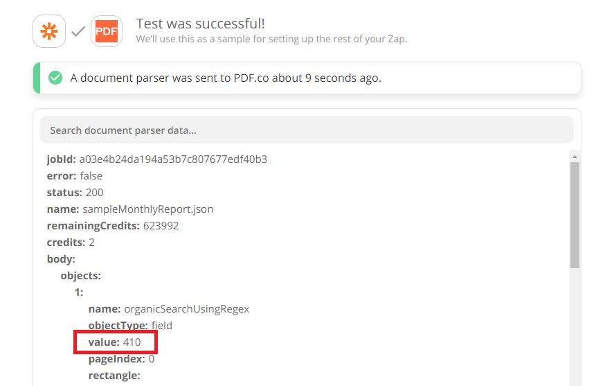 Document Parser Test Successful