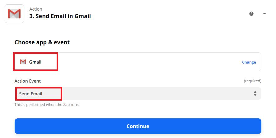 Send Parsed Data Using Gmail