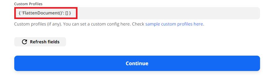 Add The PDF.co Custom Profiles