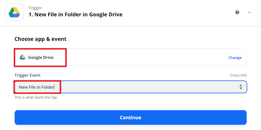 Use New File In Folder As Trigger
