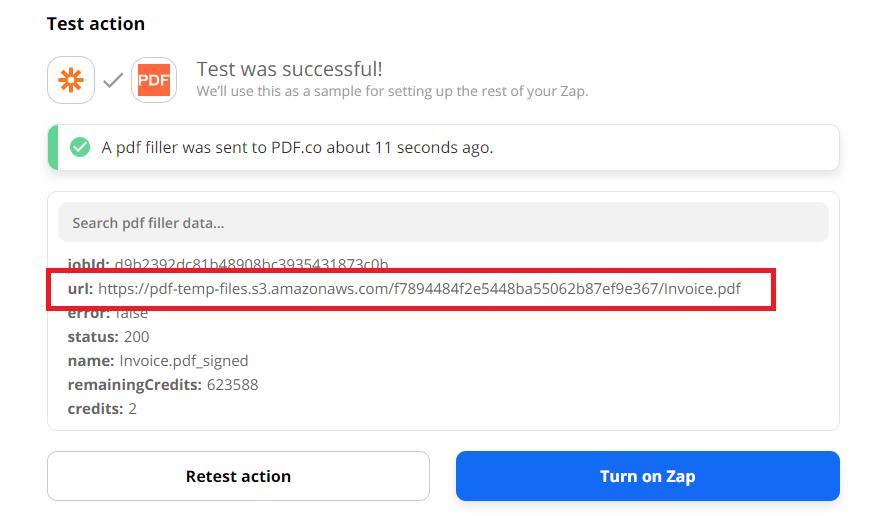 PDF.co Test Successful