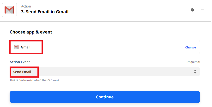 Setup Gmail As Email Provider
