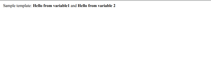 Screenshot of created PDF file from Scratch using HTML to PDF