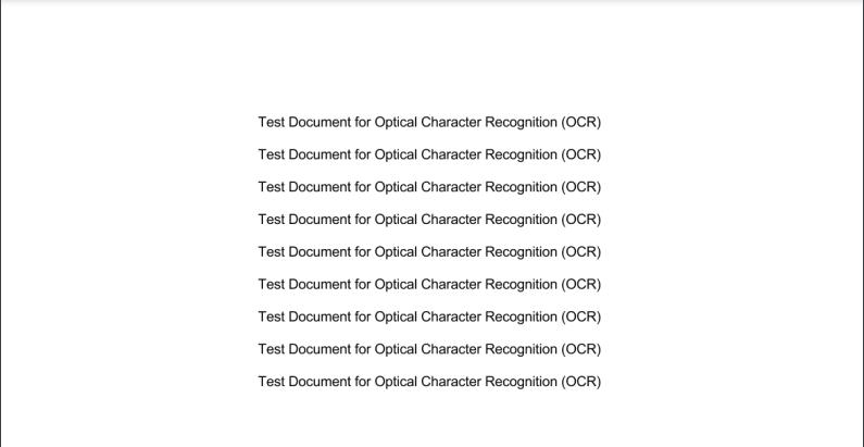 Screenshot of Scanned PDF