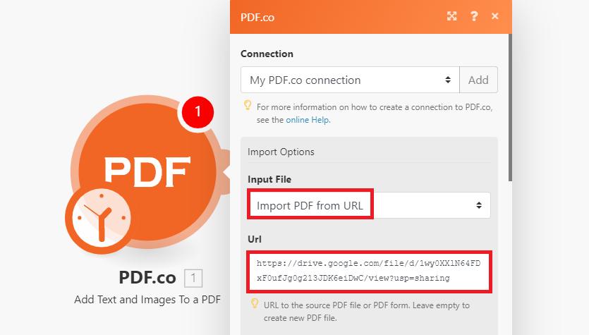 Add Direct File URL