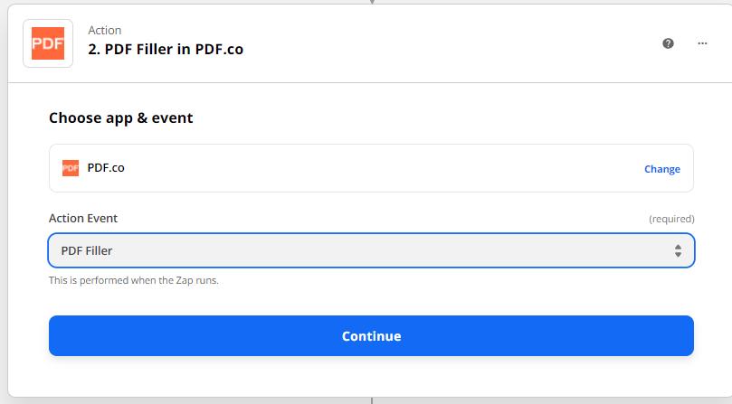 Select PDF Filler